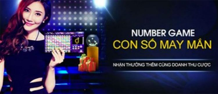 Number game con số may mắn